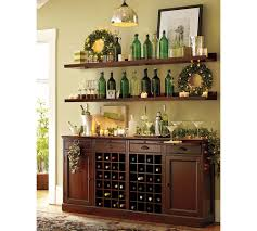 Kitchen Wine Cabinets Sideboards Astounding Buffet Hutch With Wine Rack Buffet With