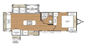 Rear Kitchen Rv Floor Plans 2018 Coachmen Catalina Legacy Edition 293rlds Model