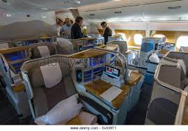 Emirates Airbus A380 Interior Business Class Airbus A380 800 Cabin Stock Photos U0026 Airbus A380 800 Cabin Stock