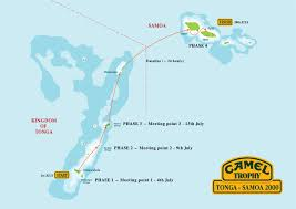 Tonga Map South Pacific U2013 Lisa Nordlind