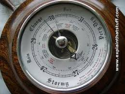 new york times forecast dial how do barometers work explain that stuff
