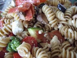 Cold Pasta Salad Recipe Colorful Italian Pasta Salad Recipe Sparkrecipes
