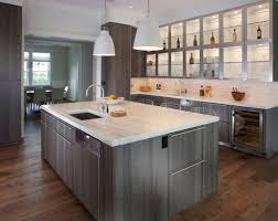 grey kitchen cabinets wood floor the psychology of why gray kitchen cabinets are so popular