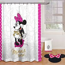 Minnie Mouse Bathroom Rug Minnie Mouse Bath Collection Disney Store Step Into A Luxurious