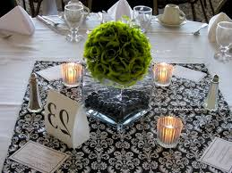 wedding table decor without flowers wedding party decoration
