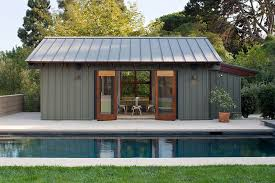 pool house pool house designs smart modern pool house in steely gray design