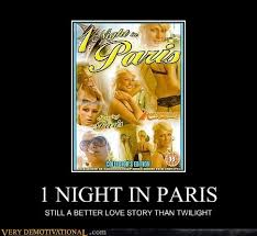 From Paris With Love Meme - 1 night in paris very demotivational demotivational posters