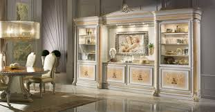 furniture luxury white yellow cabinet with good quality furniture