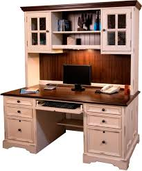 Computer Desk With Hutch Home Office Furniture Annie Oakley U0027s Wood Furniture