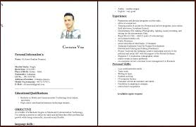 Professional Curriculum Vitae Samples Curriculum Vitae Examples Cover Letter Writing