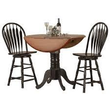 Drop Leaf Bar Table 42
