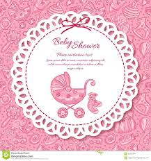 baby shower greeting card for baby stock vector image