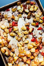 roasted breakfast potatoes home fries cookie and kate