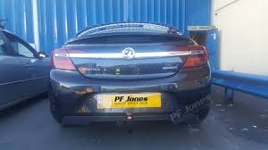 vauxhall insignia trunk insignia saloon 2008 onwards witter detachable towbar