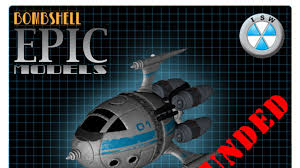 Isw Blog May 2017 by Scout Ship Miniature Kit By Bombshell Miniatures U2014 Kickstarter