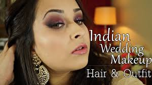 get ready with me indian wedding makeup hair and indian