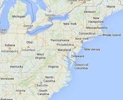 usa east coast map maps east coast usa map
