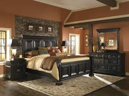 brown bedroom ideas homey brown bedroom with stunning black wooden storage and
