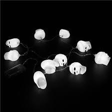 halloween skull fairy led string lights