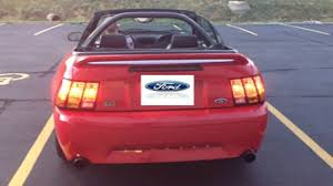 2004 mustang sequential lights customer demo of 1999 mustang cobra led sequential