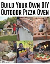 Build Brick Oven Backyard by Diy Outdoor Pizza Oven Ideas U0026 Projects With Instructions Oven