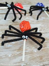 halloween spiders crafts spider suckers i heart nap time