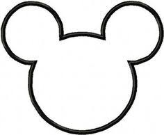 mickey mouse hat template trace this pattern on back side of the