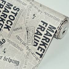english newspaper pattern beibehang do the old newspaper pattern english letters non woven