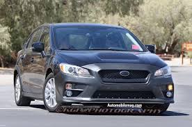 subaru hatchback hold the phone subaru wrx hatchback spied