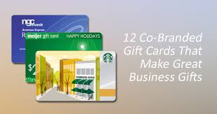 gift card business 12 co branded gift cards that make great business gifts canopy
