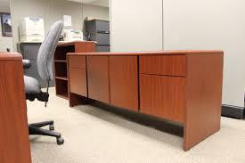 Best Second Hand Furniture Melbourne Desk Credenza U0026 Bookshelf Set Roe Recycled Office