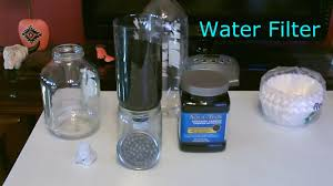 Materials Sink In Water by Diy Water Filter Homemade