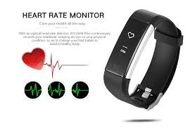 heart rate monitoring bracelet images Dropship id115hr plus heart rate monitor smart bracelet to sell jpg
