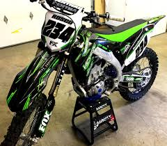 graphics for motocross bikes kawasaki kxf custom dirt bike graphics image gallery