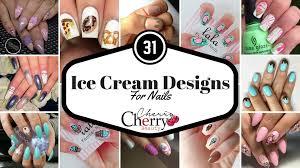 31 ice cream designs for nails cherrycherrybeauty