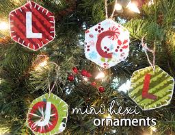 Christmas Ornaments With Initials Charming Christmas Ornaments Moda Bake Shop