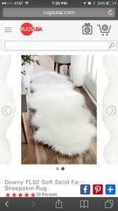 Faux White Sheepskin Rug Super Warm Soft Cozy Authentic Faux White Sheepskin Rug Chair