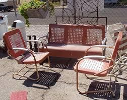 Old Metal Patio Furniture Outdoor Furniture