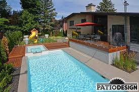 House Patio Design by Design Construction And Installation Of Patios Around A Pool
