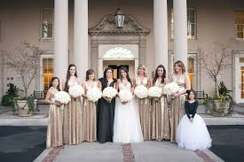 bridesmaid dresses metallic bridesmaid dress styles from real