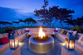 ocean bedroom ideas home design and interior decorating beach diy kitchen fabulous outdoor living space idea with fireplace colorful cushions white candles and beautiful landscape breathtaking