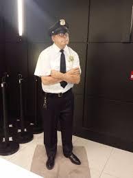 cineplex uniform dummy standing at security area picture of cineplex cinemas