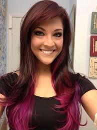 dark hair underneath light on top 42 best pink brown hair images on pinterest colourful hair hair