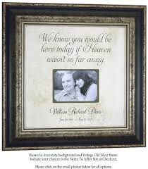 remembrance picture frame in memory of picture frame remembrance wall decor by