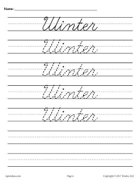 best 25 cursive writing practice sheets ideas on pinterest free