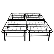 mainstays 7 adjustable metal bed frame easy no tools assembly for