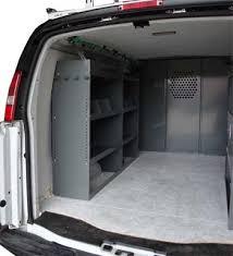 Ford Transit Connect Shelving by Van Ladder Racks Com Van Shelving Storage