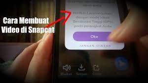 bikin video animasi snapchat cara membuat video di snapchat youtube
