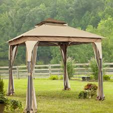 walmart patio gazebo curtains for gazebo garden u0026 outdoor screened gazebo hardtop