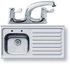 Sit On Kitchen Sink Waste  Tap Xmm Right Hand Pyramis - Sit on kitchen sink